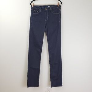&Denim Straight Regular Dark Wash Jeans 30x34